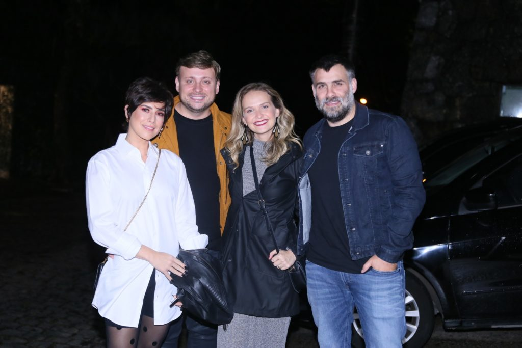 Fernanda Rodrigues, Fernanda Paes Leme, Luciano Huck