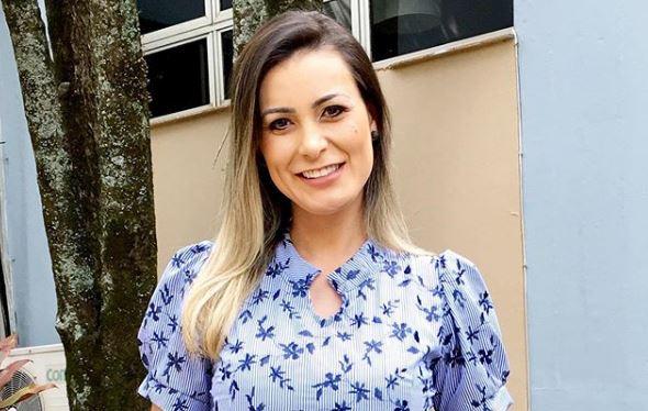 A apresentadora da Record e ex-participante de A Fazenda, Andressa Urach (Foto: Reprodução)