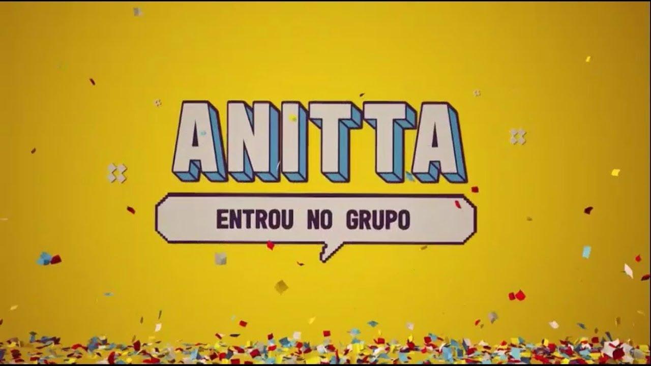 Confira a identidade visual de Anitta Entrou No Grupo (Foto: Reprodução/Multishow)