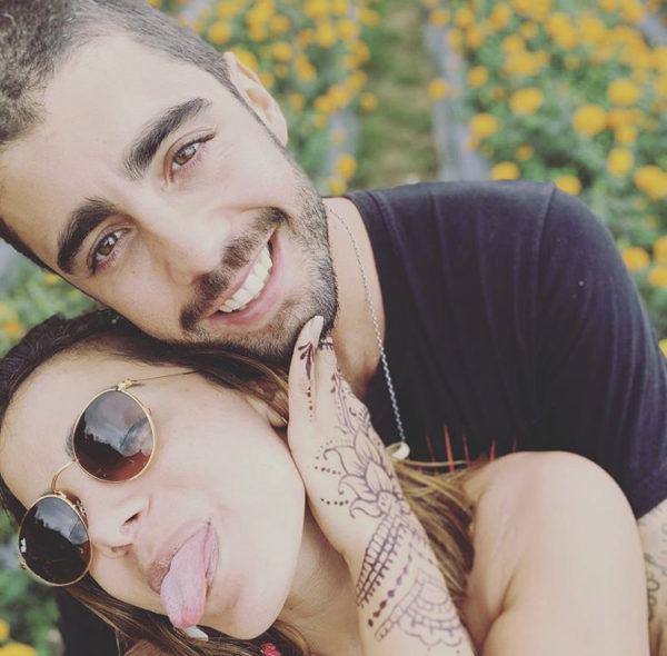 Anitta e seu ex-namorado Pedro Scooby (Foto: Reprodução)