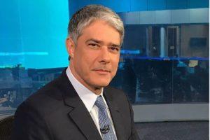 O apresentador do Jornal Nacional da Globo, William Bonner (Foto: Reprodução)