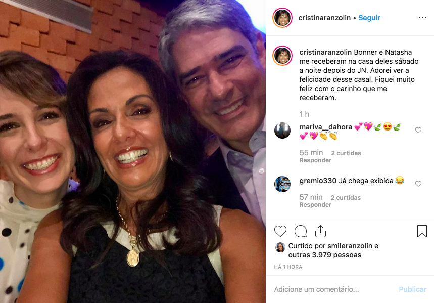 William Bonner, Natasha Dantas, Jornal Nacional
