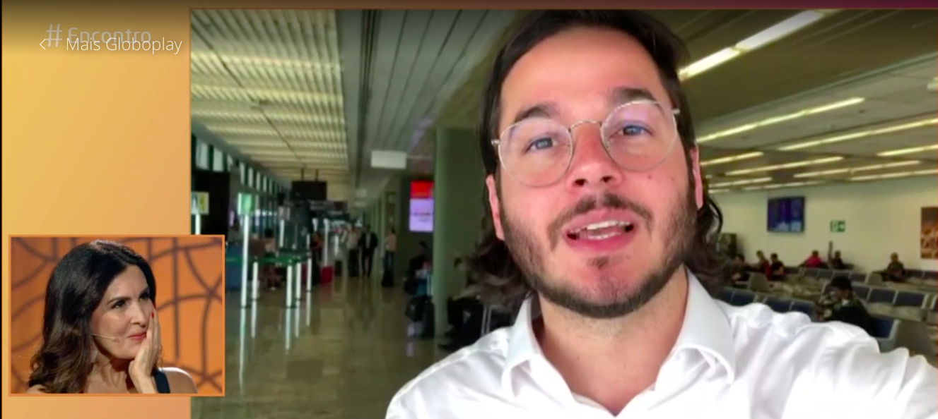 Túlio Gadêlha, namorado de Fátima Bernardes, ridiculariza Bolsonaro em vídeo que Silas Malafaia zomba do presidente