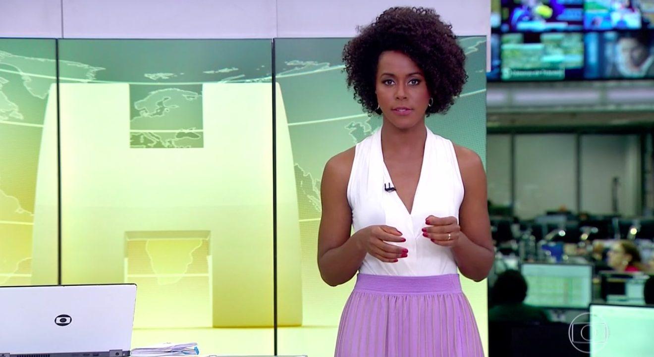 Maju Coutinho, Globo, Jornal Hoje jornal nacional