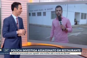 Marido da apresentador do Hoje Em Dia da Record, Ticiane Pinheiro, César Tralli