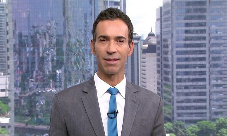 César Tralli (Foto: Reprodução/Globoplay)