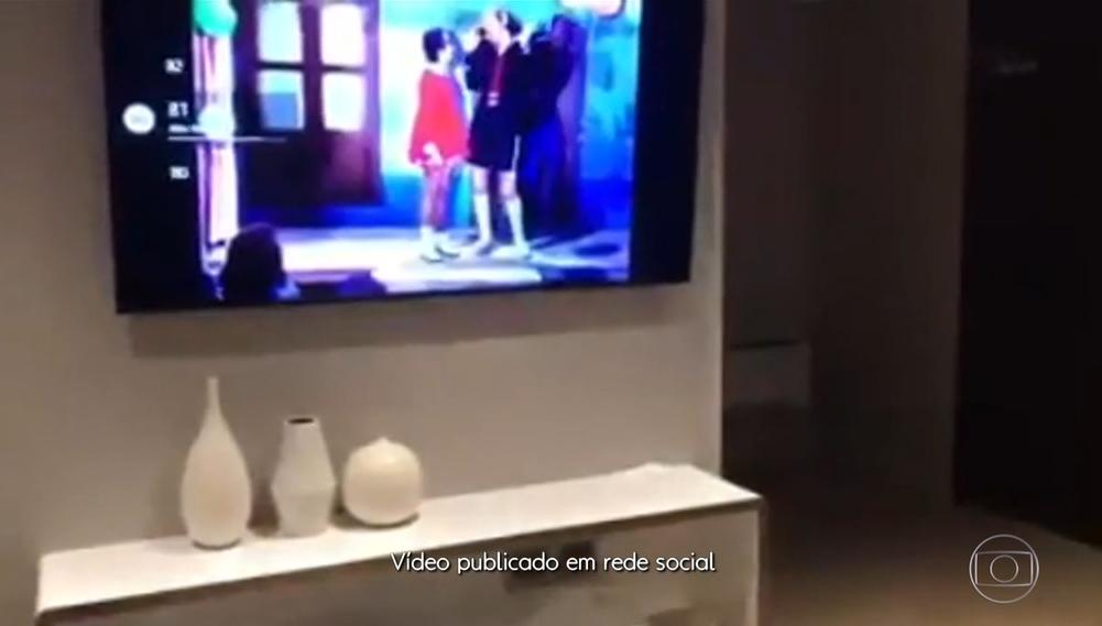 """""""Chaves"""" é o desenho favorito de Bolsonaro (Foto: Reprodução/Globoplay)"""