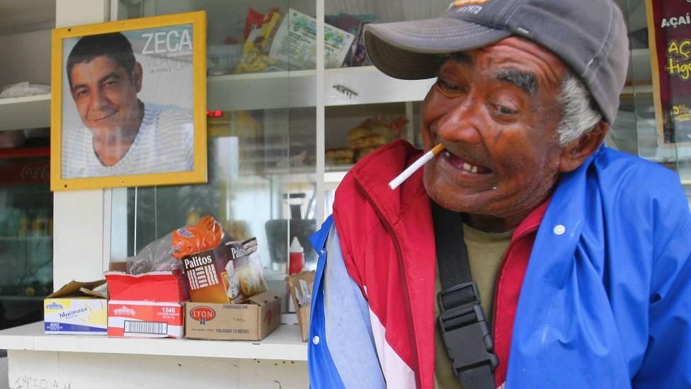 Cobra Coral era um grande amigo de Zeca Pagodinho (Foto: Divulgação)