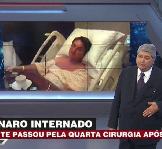 Datena mandou recado para Jair Bolsonaro durante programa (Foto: Reprodução/Band)