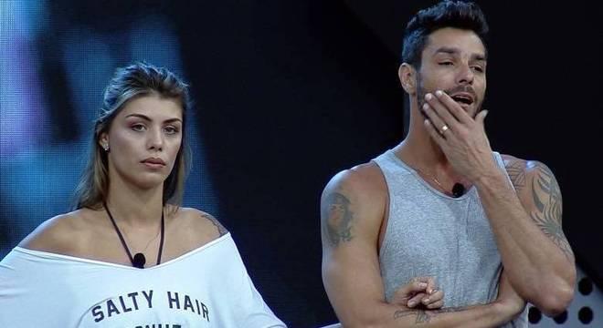 Diego Grossi e Franciele Grossi participaram e foram expulsos do Power Couple Brasil
