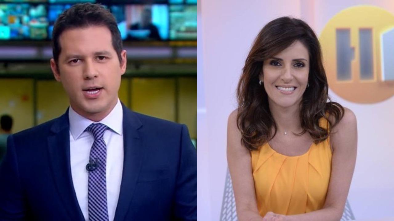 Dony de Nuccio e Monalisa Perrone (Foto: Reprodução/TV Globo/Montagem TV Foco)