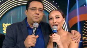 record Sabrina Sato será a substituta de Geraldo Luís no Domingo Show (Foto: Reprodução/Record)
