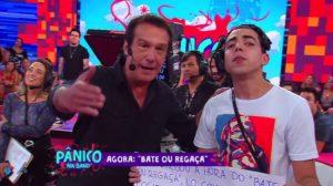 Emílio Surita e Lucas Maciel no Pânico na Band (Foto: Reprodução)
