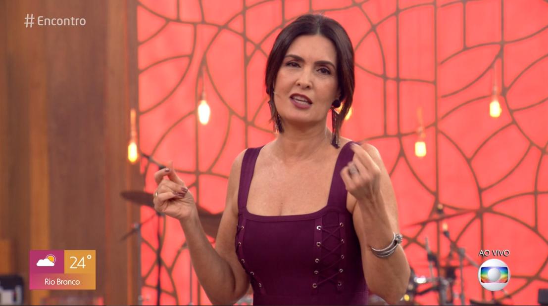 A apresentadora do Encontro com Fátima Bernardes, da Globo William Bonner (Foto: Reprodução/Globoplay)