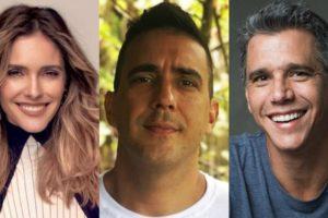 Fernanda Lima, André Marques e Márcio Garcia (Foto: Divulgação/Montagem TV Foco)
