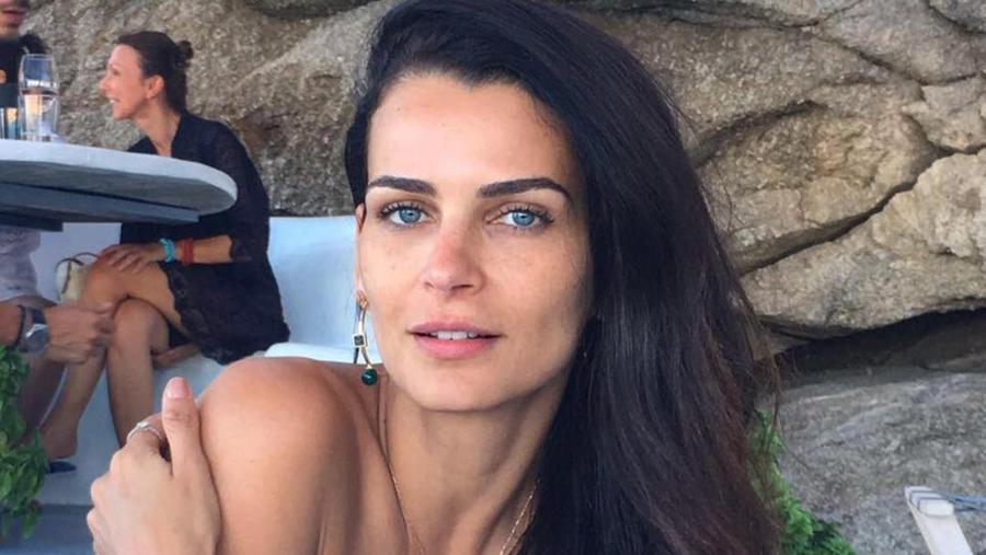 A modelo Fernanda Motta recebeu resposta de Faustão (Foto: Reprodução)