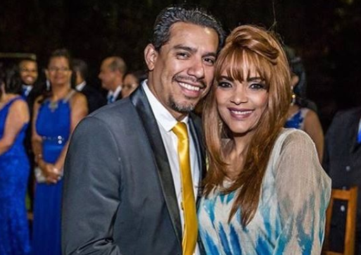 A deputada federal Flordelis e o seu esposo, o Pastor Anderson do Carmo, que foi assassinado (Foto: reprodução)