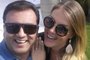 Geraldo Luís e Ana Hickmann (Foto: Reprodução)