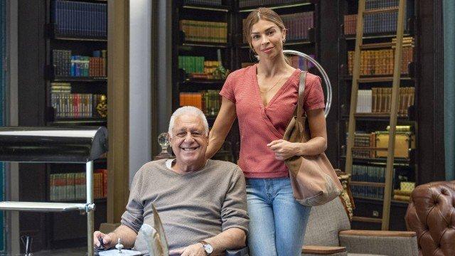 """Grazi Massafera e Antônio Fagundes atuam juntos em """"Bom Sucesso"""" (Foto: Divulgação/TV Globo)"""