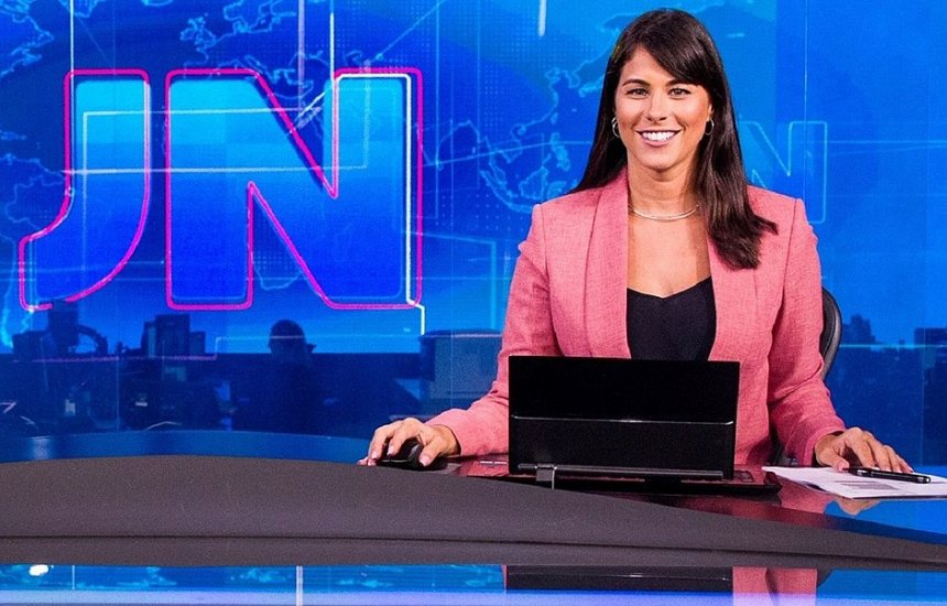 Jéssica Senra comandou o Jornal Nacional - (Foto: Divulgação)