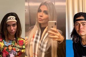 Anitta, Bruna Corrêa e Whindersson Nunes