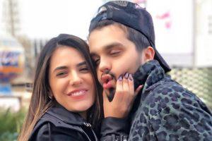 Jade Magalhães e Luan Santana (Foto: Divulgação)