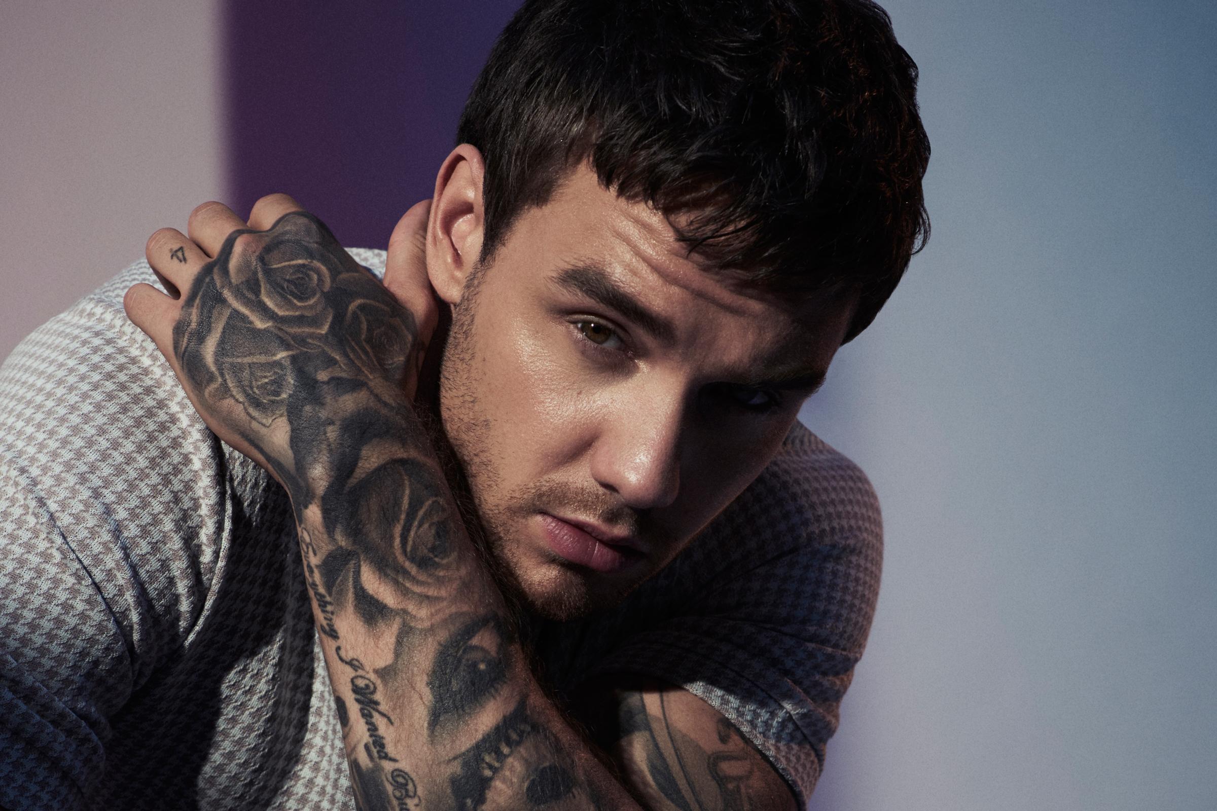 O cantor Liam Payne aparece completamente nu em clique que foi divulgado (Foto: Reprodução)