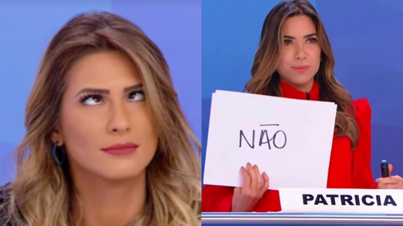 Lívia Andrade e Patrícia Abravanel (Foto: Reprodução/Montagem TV Foco)