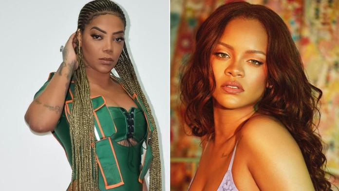 Música de Ludmilla é tocda em evento de Rihanna (Foto: Reprodução)