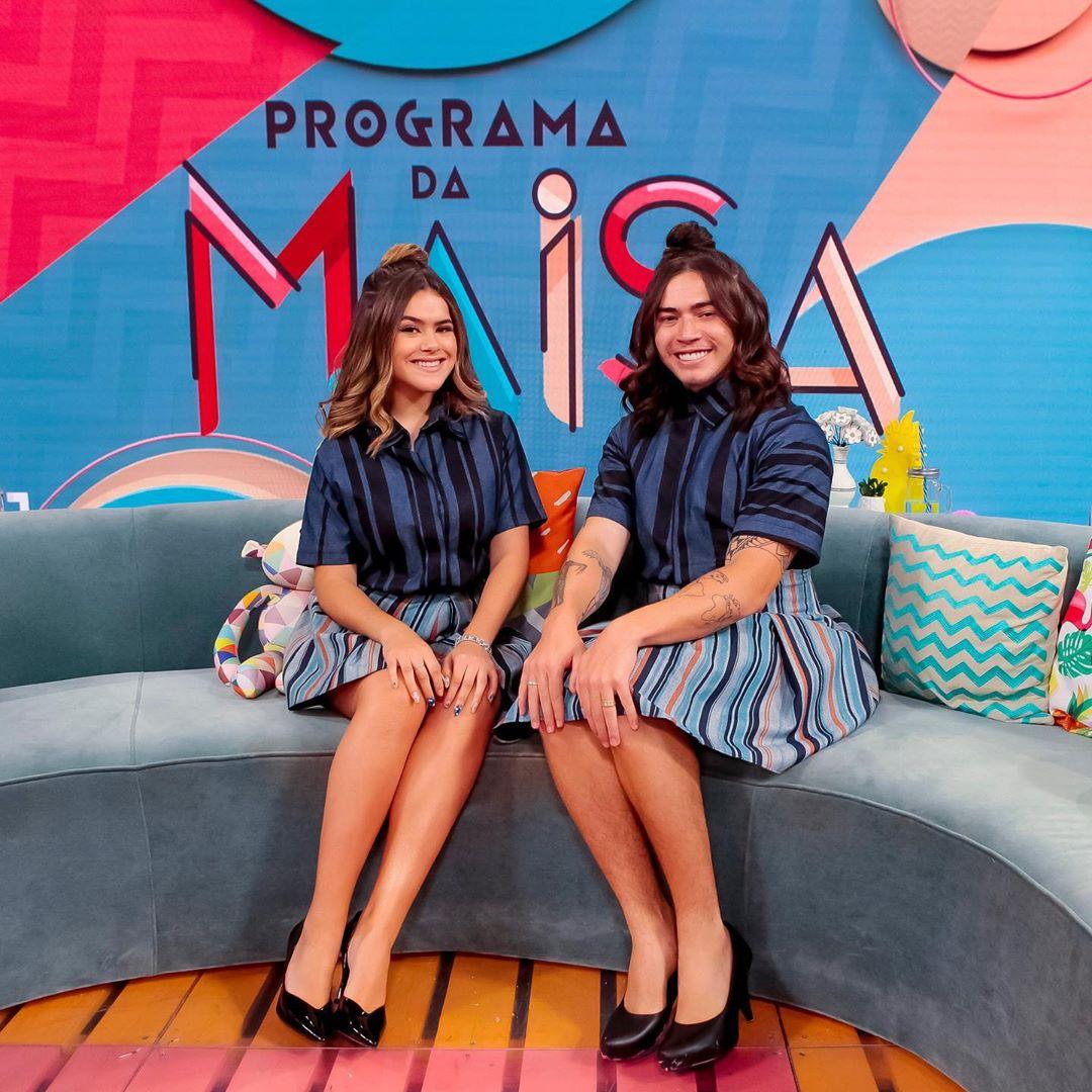 Maisa Silva e Whindersson Nunes farão a festa no SBT (Foto: Reprodução/Instagram)