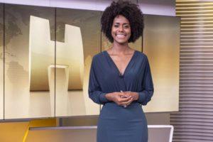 Maju Coutinho marcelo cosme é a nova apresentadora do Jornal Hoje, da Globo (Foto: Globo/Fábio Rocha)