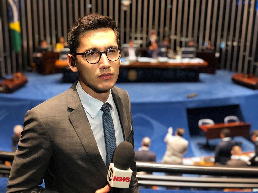 Nilson Klava é o repórter de política mais jovem da Globo (Foto: Reprodução/Instagram)