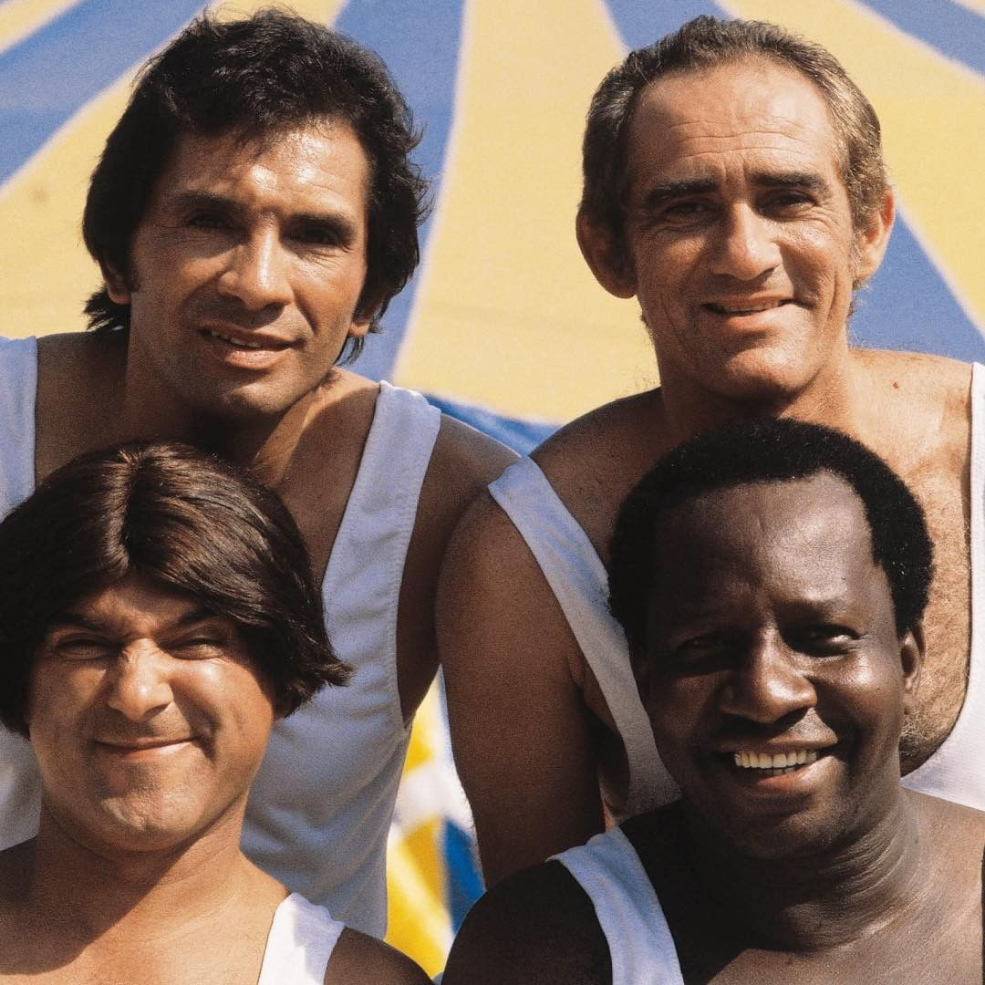 Os Trapalhões, com Dedé Santana, Didi, Zacarias e Mussum (Foto: Reprodução/Instagram)