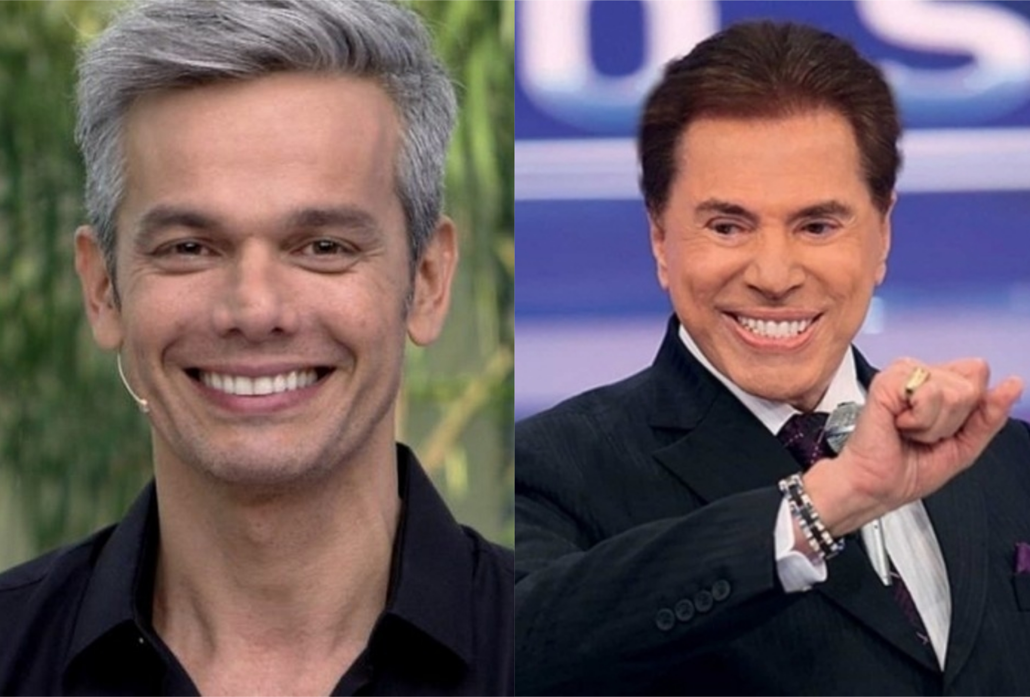 Otaviano Costa pode ser contratado por Silvio Santos no SBT (Foto: Montagem/TV Foco)