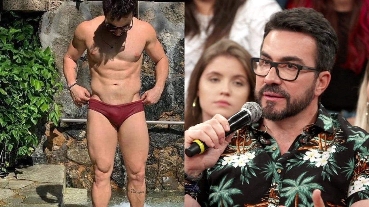 Padre Fábio de Melo deu risada de fake news envolvendo o seu nome (Foto: Reprodução/Instagram/GShow/Montagem TV Foco)
