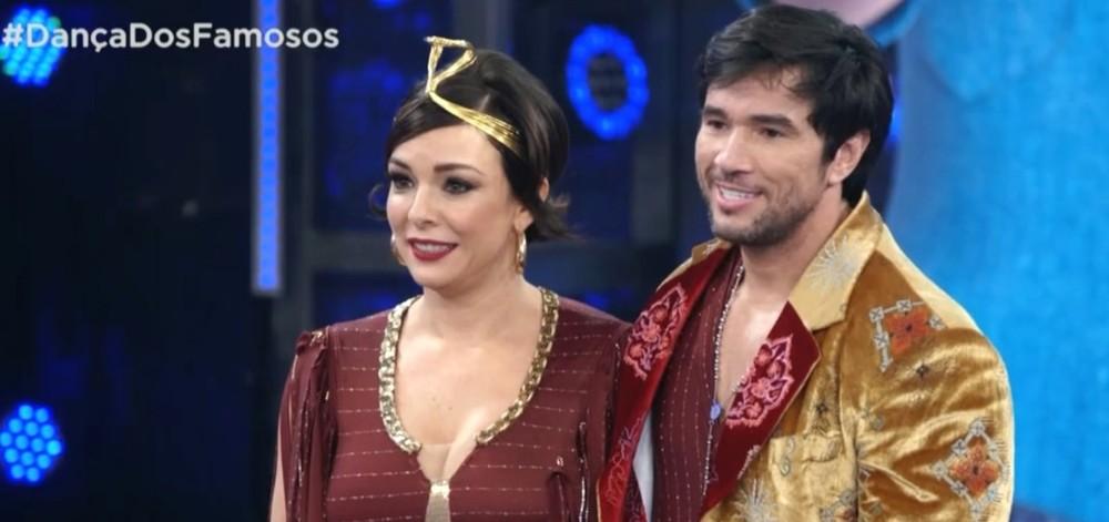 Reginaldo Sama e Regiane Alves. Foto: Reprodução