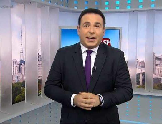 O jornalista Reinaldo Gottino, ex-Record, pode contar com Adriana Araújo como colega (Foto: Reprodução)