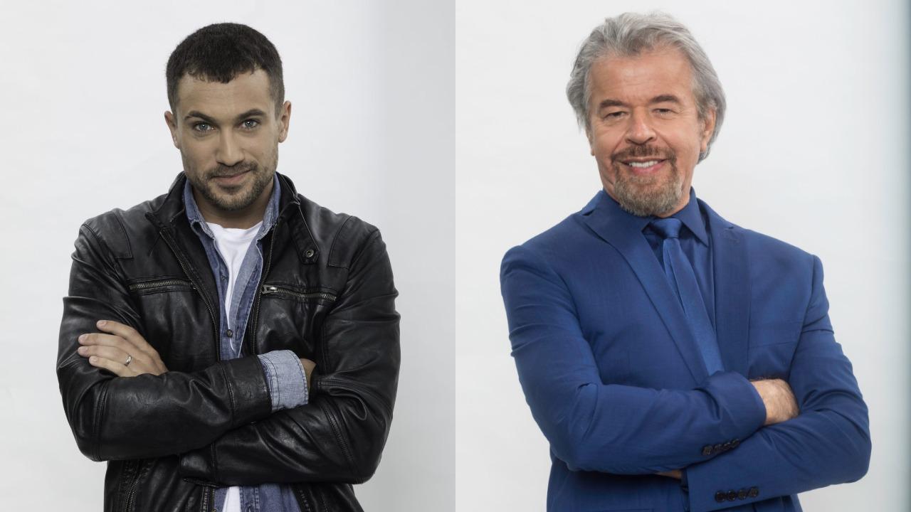 Ricardo Vianna e Zeca Lima (Foto: Divulgação/Record)