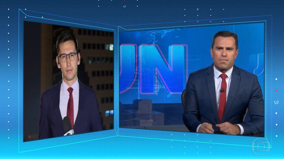 Rodrigo Bocardi e Nilson Klava (Foto: Reprodução/Globoplay)