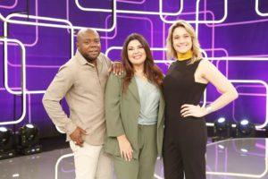 Érico Brás, Fabiana Karla e Fernanda Gentil comandarão o Se Joga na Globo (Foto: Divulgação)