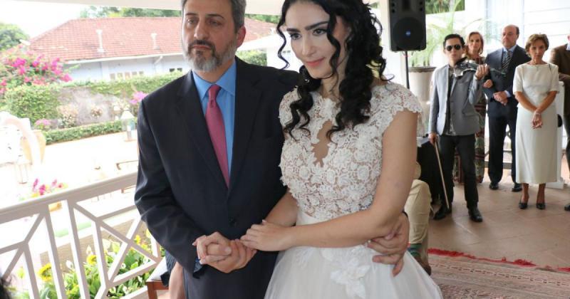 Sérgio Schiller Thompson-Flores e Cristiane Machado (Foto: Arquivo Pessoal)