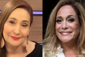 Sonia Abrão e Susana Vieira (Foto: Reprodução/Montagem TV Foco)