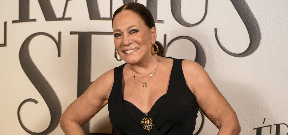 """Susana Vieira na coletiva de imprensa de """"Éramos Seis"""", trama das 18h da TV Globo (Foto: Divulgação/ TV Globo)"""