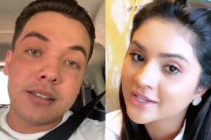 Wesley Safadão e Mileide Mihaile (Foto: Reprodução/Instagram/Montagem TV Foco)