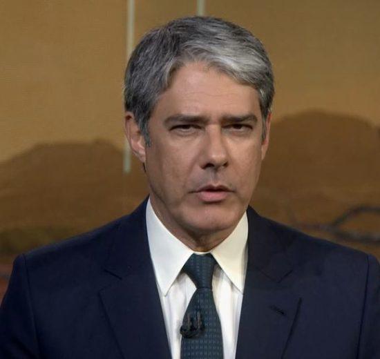 O apresentador do Jornal nacional da Globo, William Bonner (Foto: Reprodução/Globoplay)