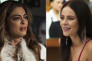 Juliana Paes e Paolla Oliveira trabalham atualmente na novela A Dona do Pedaço, da TV Globo (Foto: Reprodução)