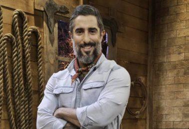 record Marcos Mion é o apresentador de A Fazenda (Foto: Reprodução)