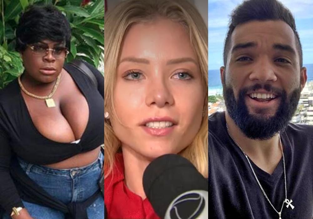 Jojo Todynho, Najila Trindade e Jonathan Costa estão cotados na décima primeira edição do reality show A Fazenda, da Record. (Foto: Reprodução)