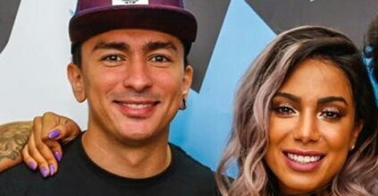 A cantora Anitta e seu irmão, Renan Machado (Foto: Divulgação)