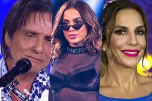 Anitta, Ivete e Roberto Carlos estão entre os maiores cachês do Brasil
